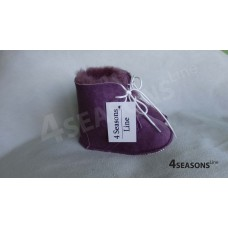 Baby booties Light Purple