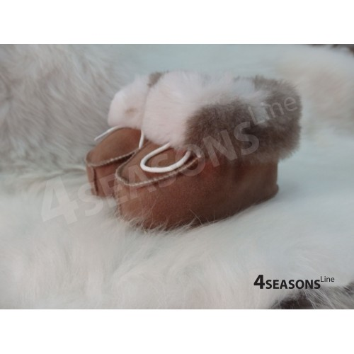 Baby booties Fluffy
